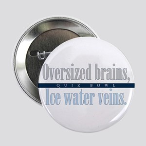 """Oversized Brains 2.25"""" Button (10 pack)"""