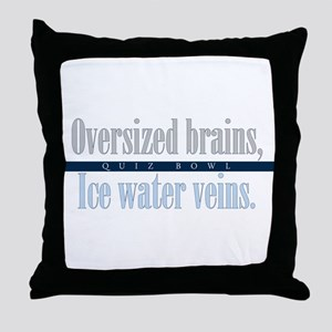 Oversized Brains Throw Pillow