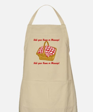PERSONALIZED Picnic Basket Graphic Apron