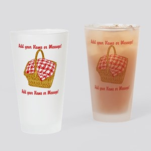 PERSONALIZED Picnic Basket Graphic Drinking Glass