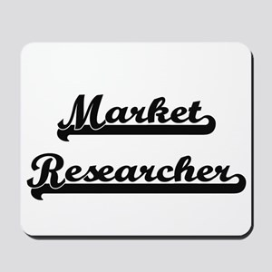 Market Researcher Artistic Job Design Mousepad