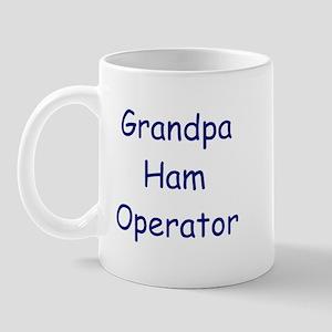 Grandpa Ham Operator Mug