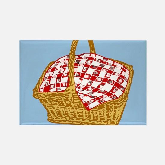 Picnic Basket Graphic Magnets