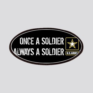 U.S. Army: Once a Soldier Always a Soldier ( Patch
