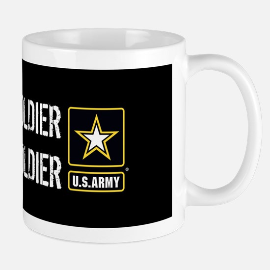 U.S. Army: Once a Soldier Always a Sold Mug