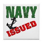 Navy Issued Tile Coaster