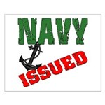Navy Issued Small Poster
