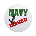 Navy Issued Ornament (Round)