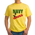 Navy Issued Yellow T-Shirt