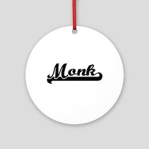 Monk Artistic Job Design Ornament (Round)