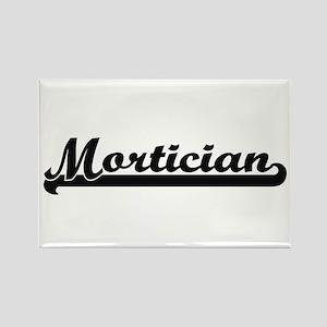Mortician Artistic Job Design Magnets