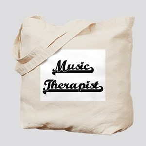 Music Therapist Artistic Job Design Tote Bag