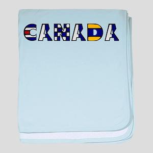 Maritime Canada baby blanket