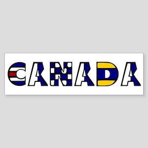 Maritime Canada Bumper Sticker