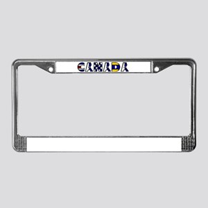 Maritime Canada License Plate Frame