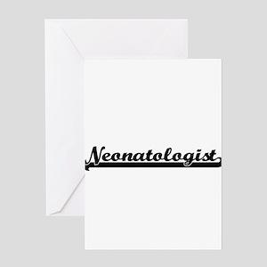 Neonatologist Artistic Job Design Greeting Cards