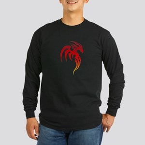 Rising Phoenix Tribal Symbol Long Sleeve T-Shirt