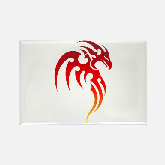 Rising Phoenix Tribal Symbol Magnets