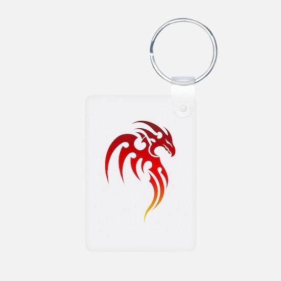 Rising Phoenix Tribal Symbol Keychains