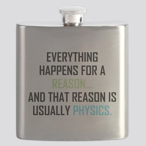 Everything Happens For A Reason Flask