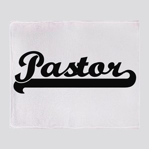 Pastor Artistic Job Design Throw Blanket