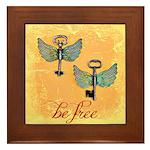 Be Free Framed Tile