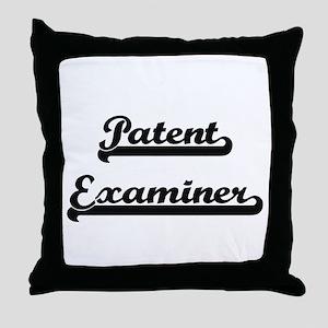Patent Examiner Artistic Job Design Throw Pillow