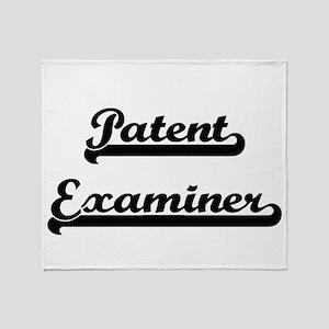Patent Examiner Artistic Job Design Throw Blanket