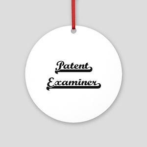 Patent Examiner Artistic Job Desi Ornament (Round)