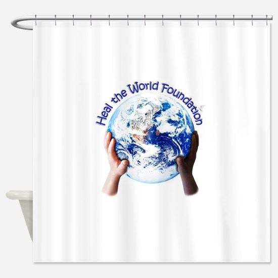 HEAL THE WORLD FOUNDATION Shower Curtain
