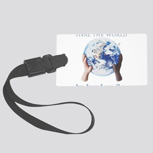 HEAL THE WORLD Luggage Tag
