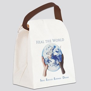 HEAL THE WORLD Canvas Lunch Bag