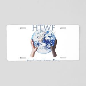 HTWF Aluminum License Plate