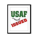 USAF Issued  Framed Panel Print