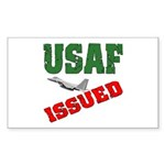 USAF Issued Rectangle Sticker