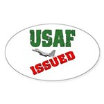 USAF Issued Oval Sticker