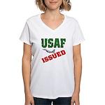 USAF Issued Women's V-Neck T-Shirt