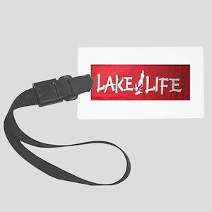 LAKE LIFE Large Luggage Tag