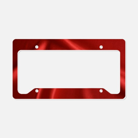 Unique Darkness License Plate Holder