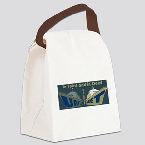 THE UNITED FLEET (T.U.F.) Canvas Lunch Bag