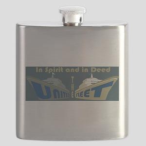 THE UNITED FLEET (T.U.F.) Flask