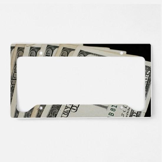 Funny Bill License Plate Holder