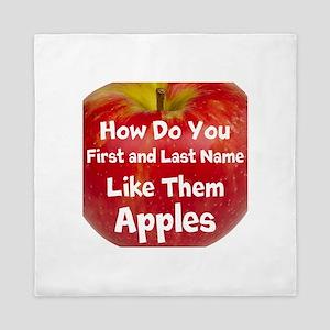 How do you like them Apples Queen Duvet