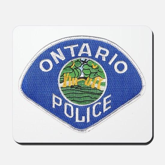 Ontario Police Mousepad