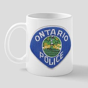 Ontario Police Mug