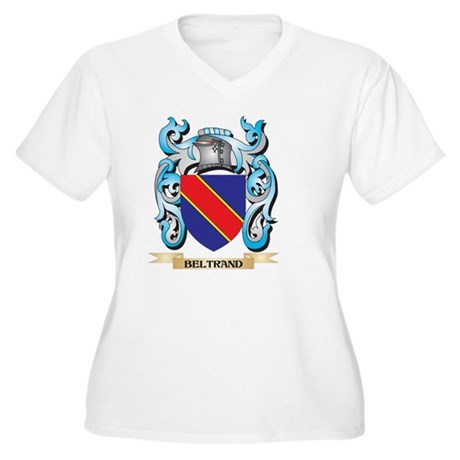 Beltrand Coat of Arms - Family C Plus Size T-Shirt