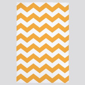Orange Juice Chevron 4' x 6' Rug