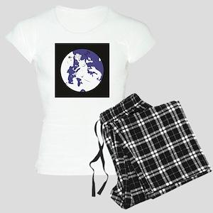 EU Flag Women's Light Pajamas