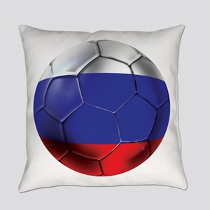 Russian Soccer Ball Everyday Pillow