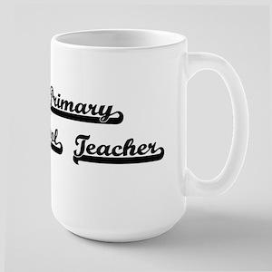 Primary School Teacher Artistic Job Design Mugs